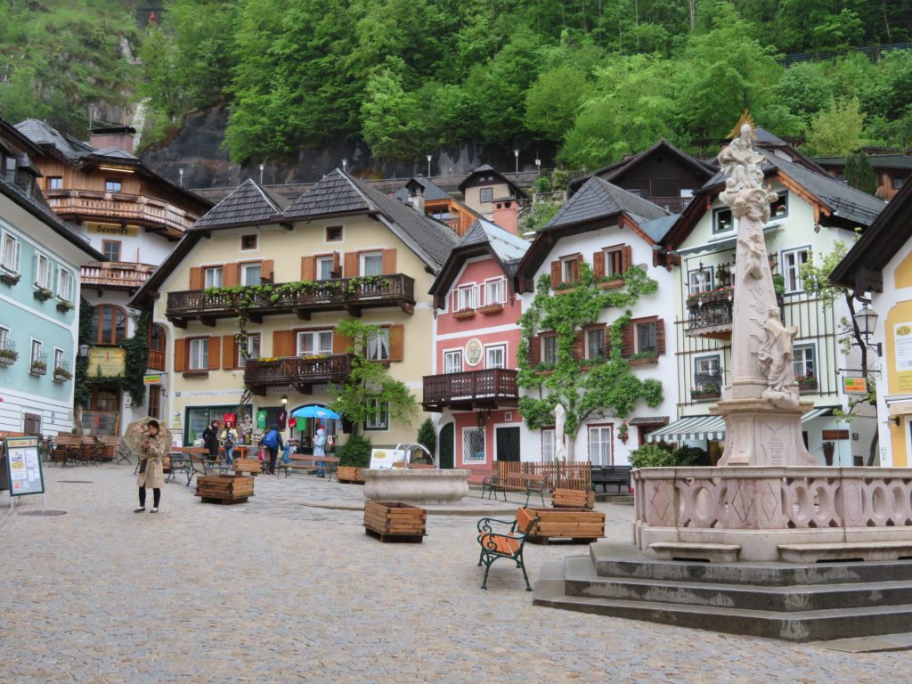 hallstat austria cutest european lakeside town how to get what to see and do view town square photography