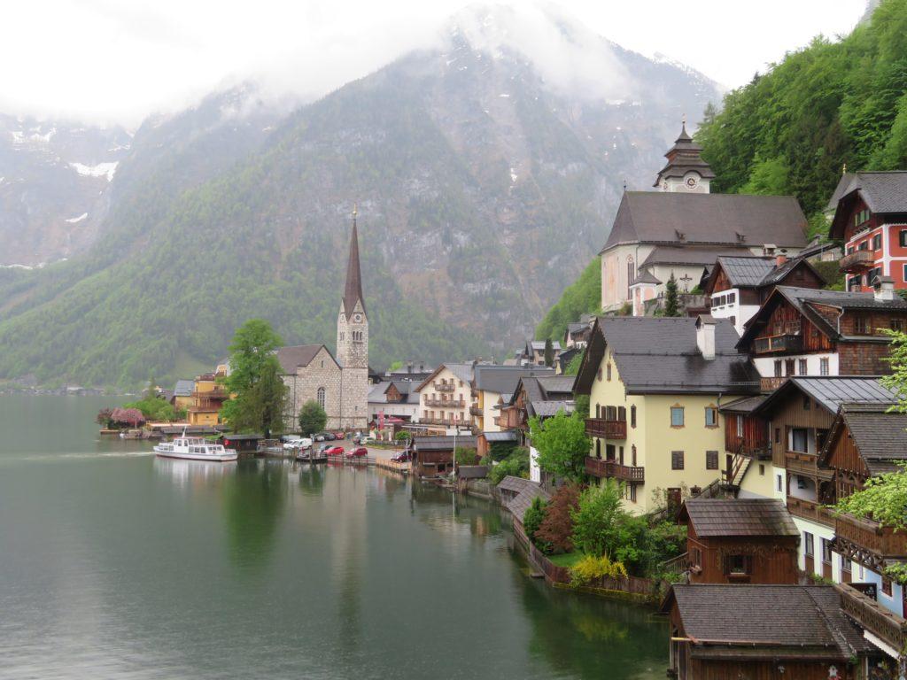 Day trip to the cutest European Lakeside Town: Hallstatt, Austria!
