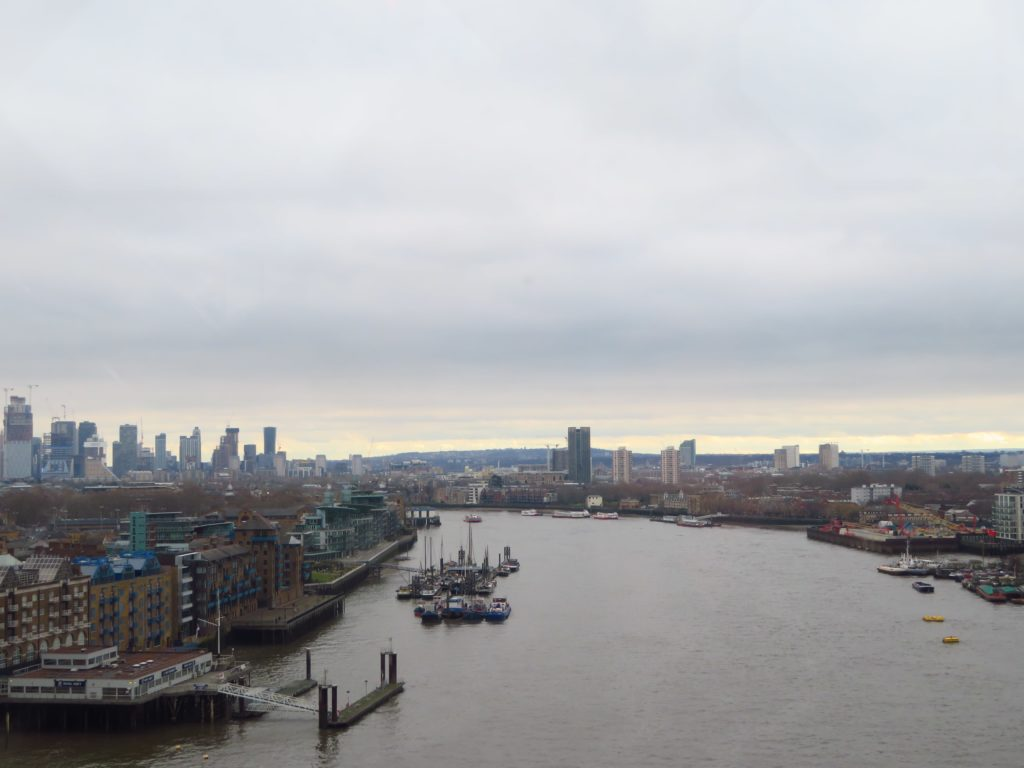 Tower bridge view London itinerary things to see and do boat tour spring weather tips