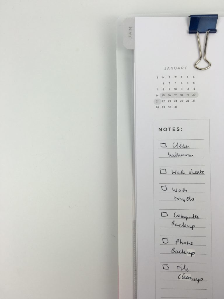american crafts weekly planner review simple spread minimalist black pen decorating plan with me butterfly clip bookmark planner supplies accessories