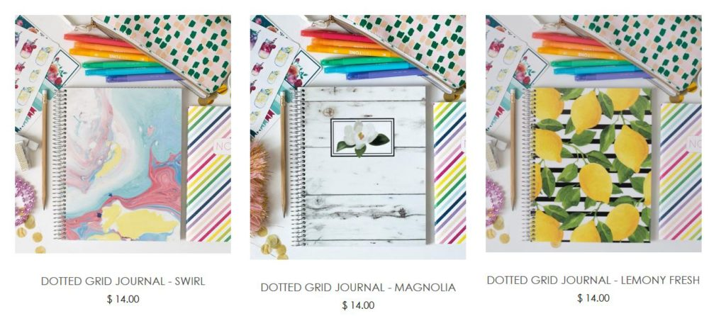 carrie elle dot grid journal notebook bullet journal review roundup recommendation