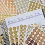 Foil planner stickers! (Gold, silver, rose gold etc.) plus the tools you need to make foil planner stickers