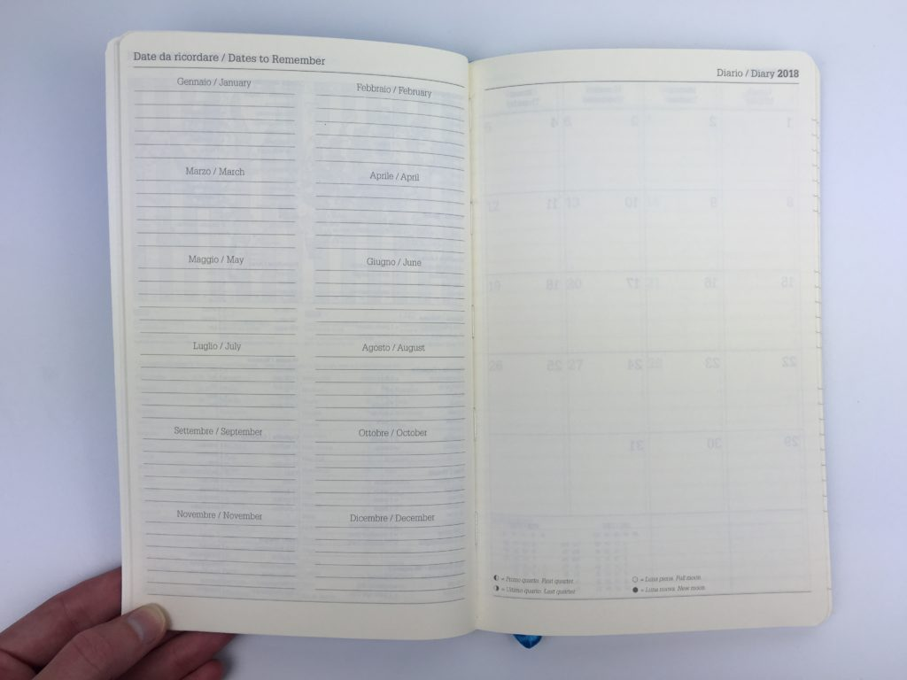 hourly vertical planner week on 2 page portable italian made lediberg ivory collection monday start 6am to 8am cheap simple dates to remember
