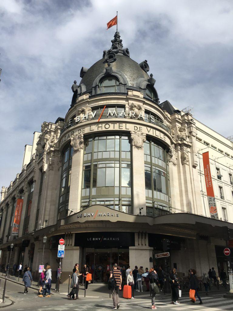 le bhv marais paris stationery shopping review haul planner supplies washi tape notebook agenda organizer-min