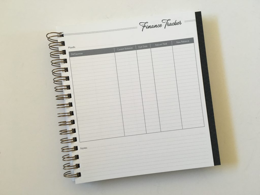 life inspired weekly planner bill payment tracker minimalist wire binding pros and cons video monday week start