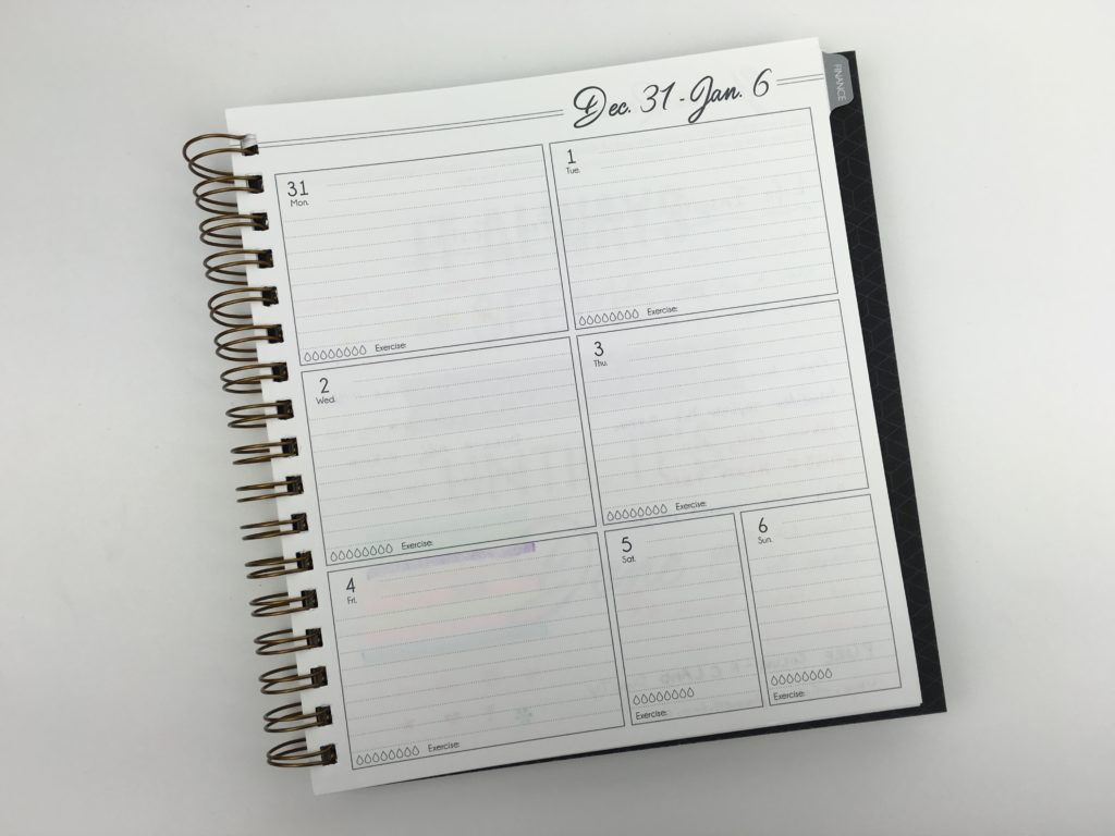 life inspired weekly planner review pen testing pros and cons monday week start horizontal lined checklist affordable quality made in america minimalist