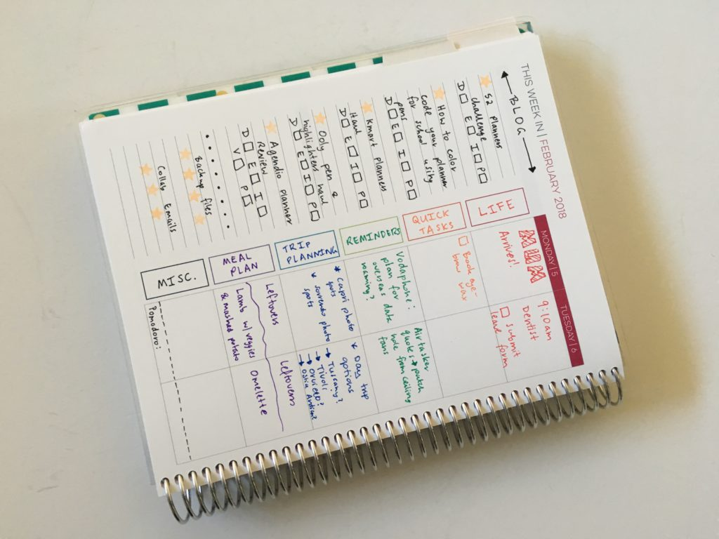 limelife planners review layout c weekly spread inspiration ideas color coding life planner blog content editorial hack tips notebook