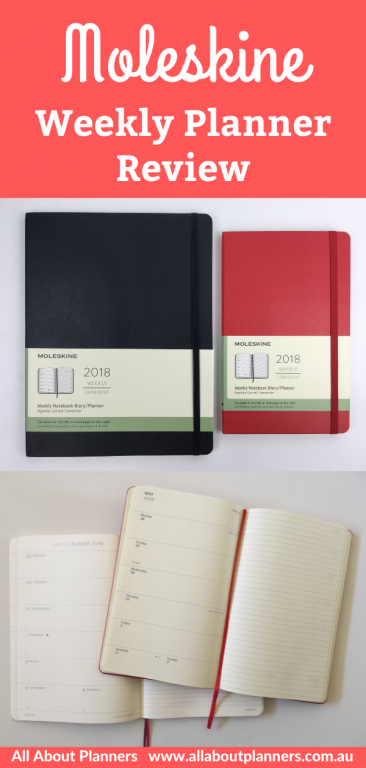 moleskine weekly planner review pros and cons pen testing sewn bound paper quality good or bad honest review video flipthrough