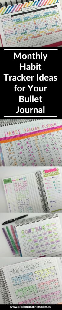 monthly habit tracker bullet journal ideas bujo inspiration ideas color coding template pdf editable routine tracker layout-min