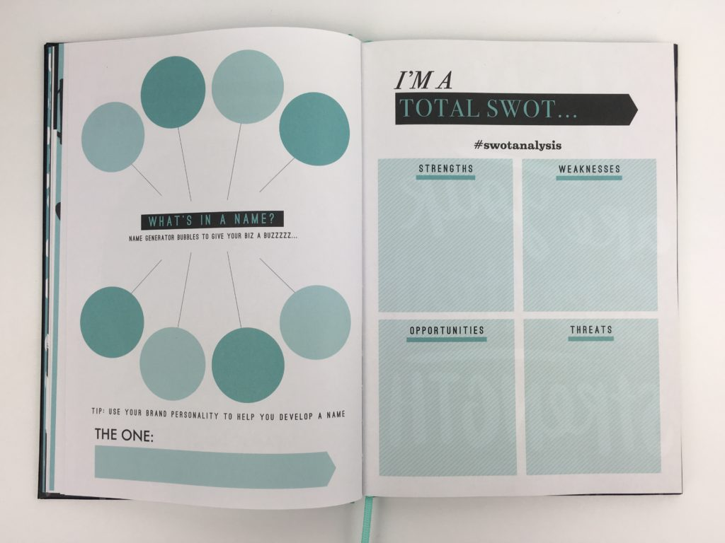 paperchase bossing it goal setting planner entrenpreneur undated a5 size hardcover blogging organizer agenda diary