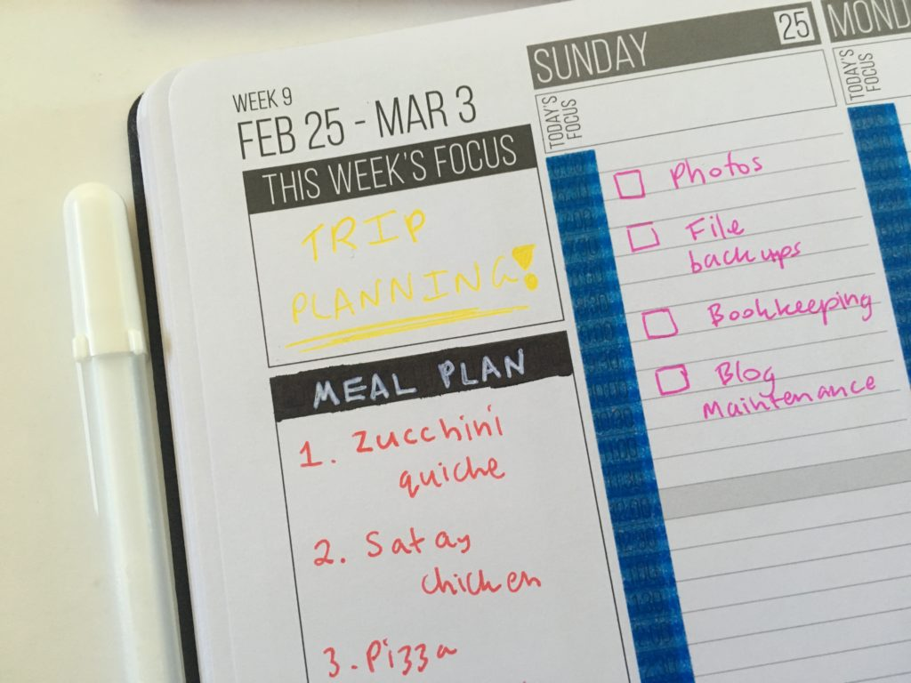 passion planner hacks sakura gelly roll how to use a white pen cover up headings custom personalised weekly spread what to put in the sidebar color coding