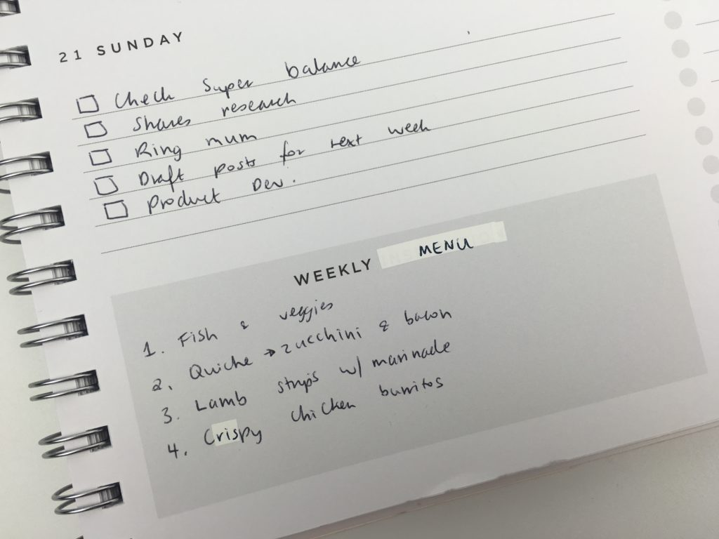 planner hack ideas correction tape personalising custom quick easy personalisation