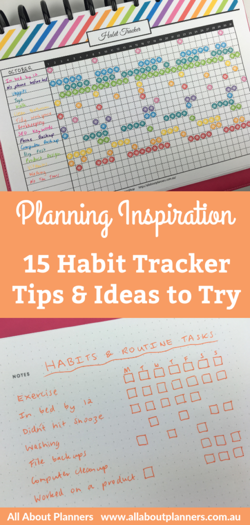 planning inspiration habit tracker ideas to try layout weekly monthly bullet journal color coded tips spreads