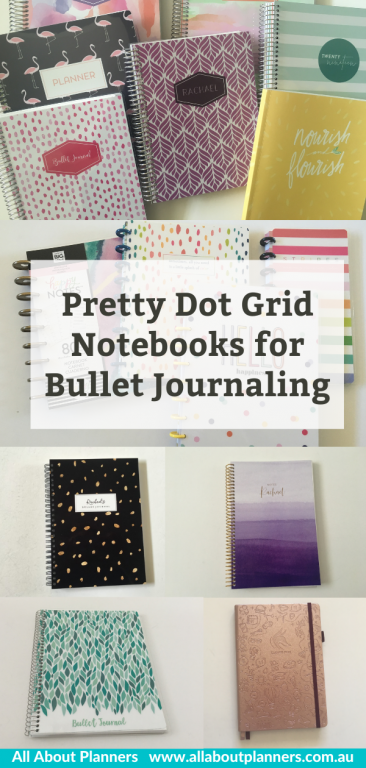 pretty dot grid notebooks for bullet journaling review pros and cons pen testing pattern cover personalised all about planners recommendation