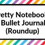 Pretty dot grid notebooks for bullet journaling (roundup)