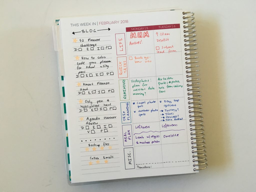 using the limelife planner for blog planning layout c content editorial calendar color coding minimalist simple planner decorating ideas diy