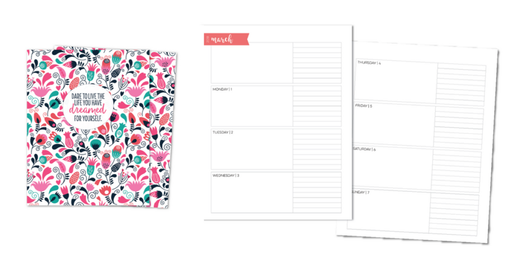 Limelife horizontal layout planner