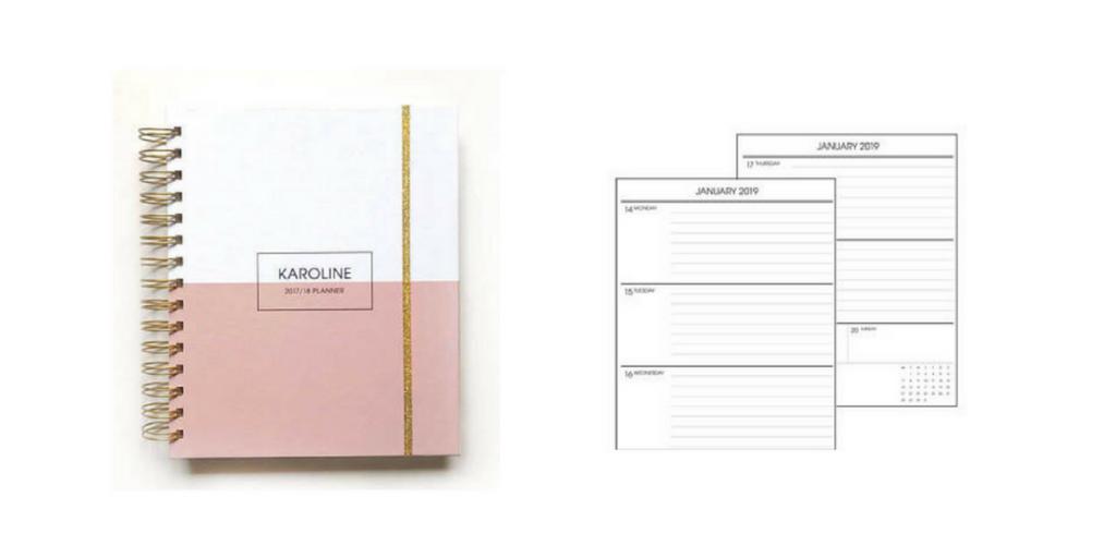 Made to Plan Planner, horizontal planner layout, alternatives to erin condren