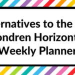 Alternatives to the Erin Condren Horizontal Weekly Planner (Planner Roundup)