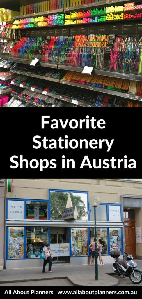 austria stationery shops favorite roundup vienna salzburg pens pencils cute notebooks planning supplies