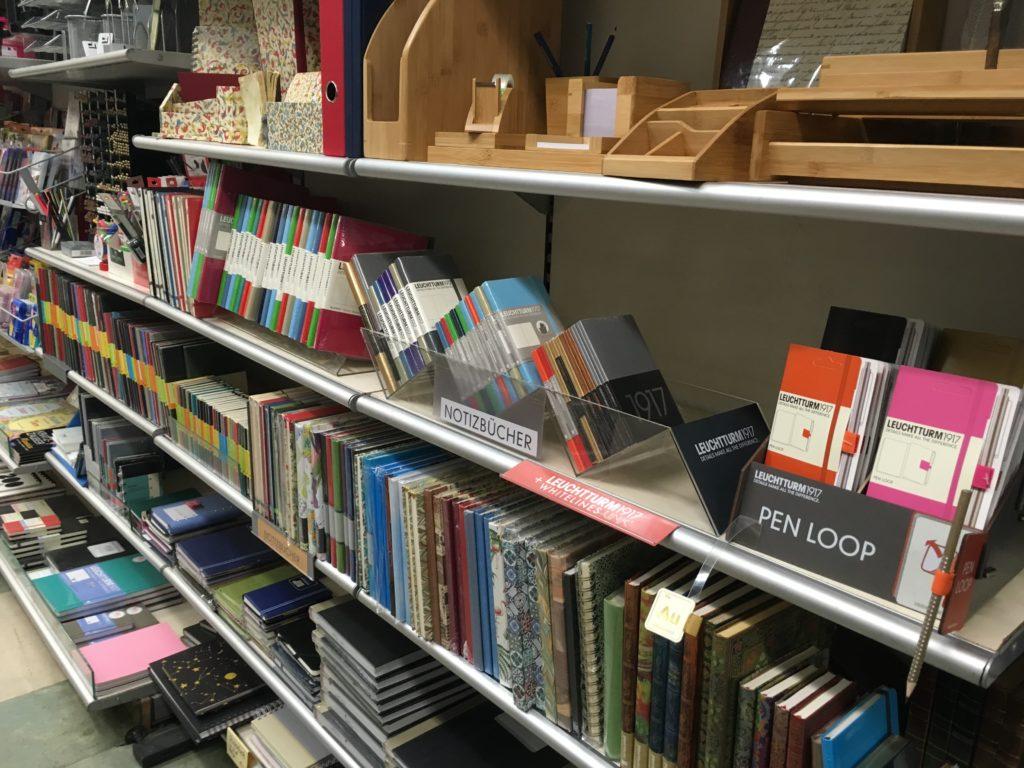 austria stationery shops wien vienna lustig papier review notebook pen cute supplies roundup haul bullet journal leuchtturm-min