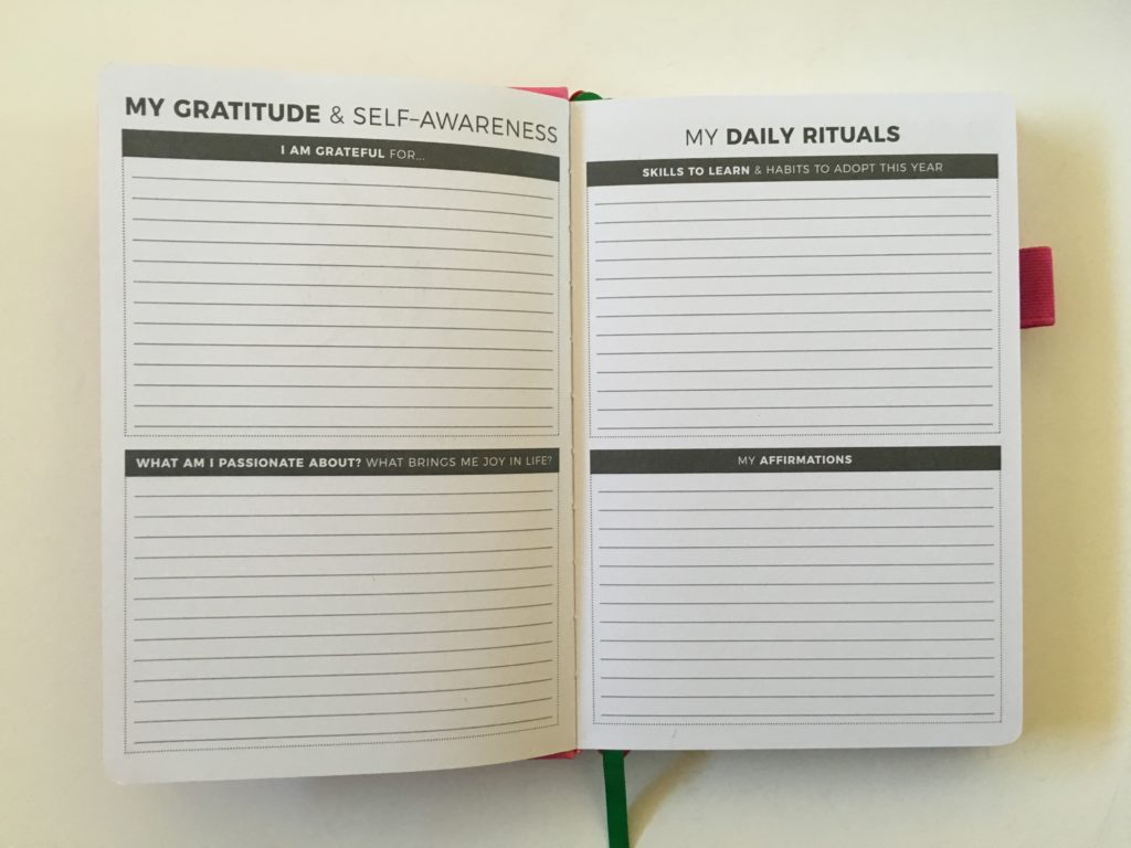 clever fox planner review gratitude rituals horizontal weekly monday start lined 2 page monthly calendar undated
