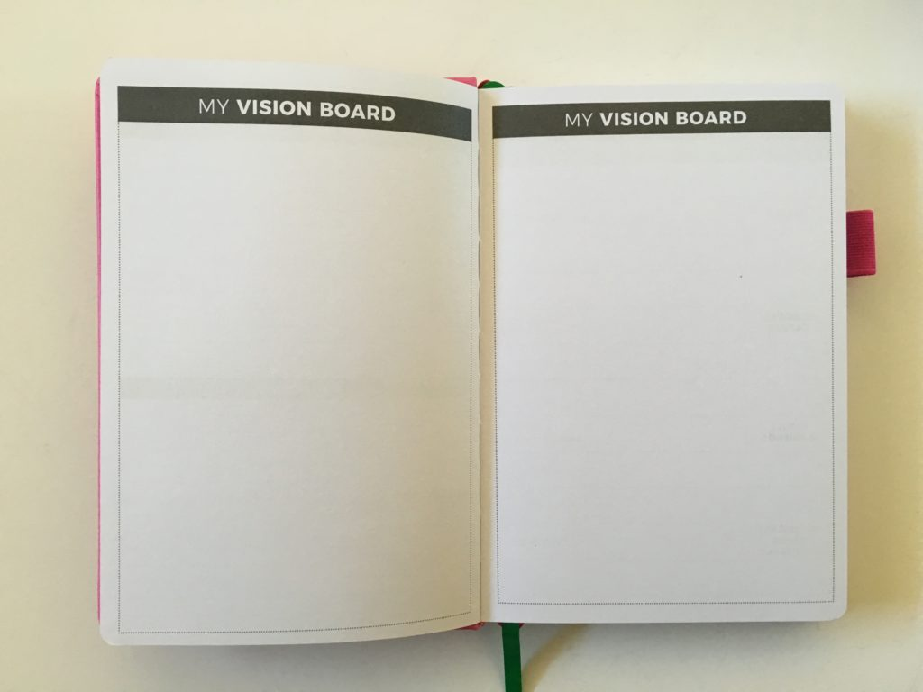 clever fox weekly planner goal setting dot grid minimalist horizontal monday start agenda diary vision board review