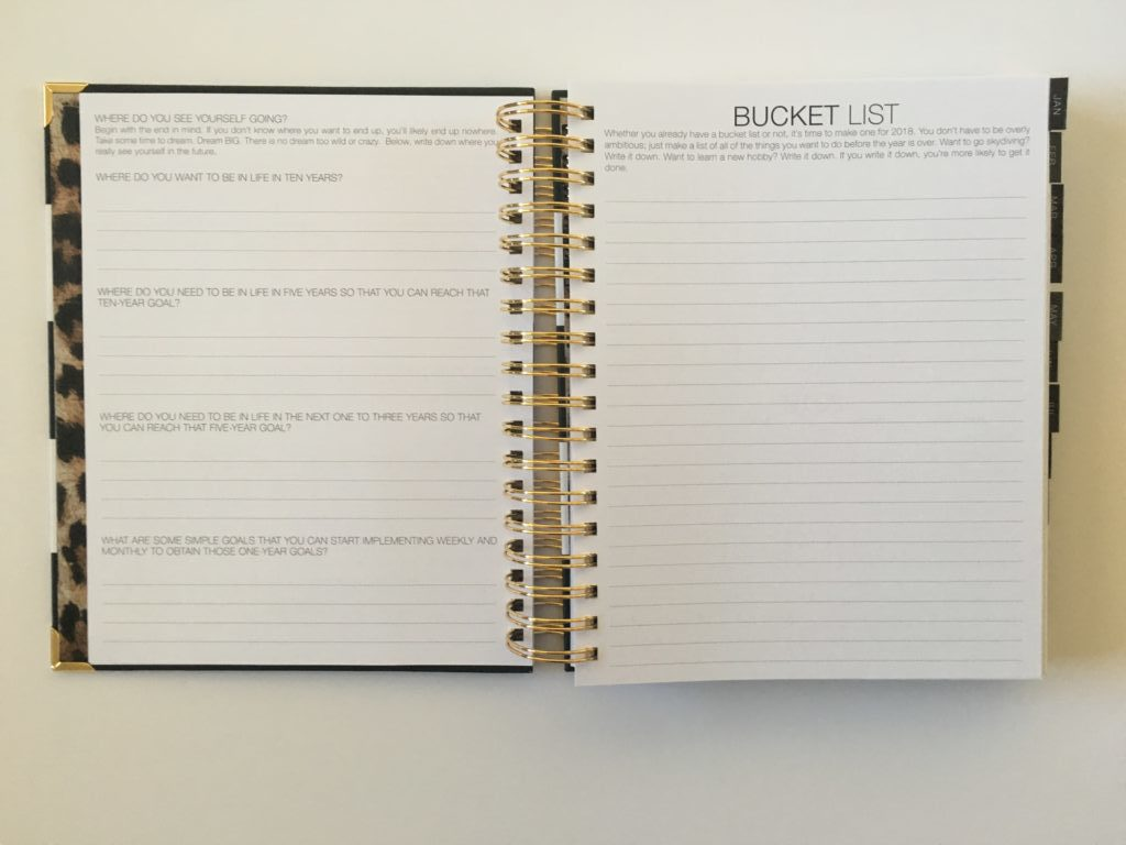 corie clark daily planner review pros and cons video purposeful monthly budget goals bucket list mom planner family daily day to a page