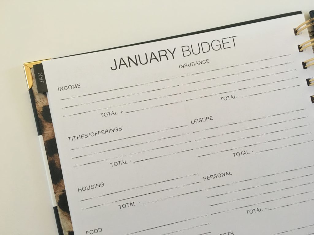 corie clark purposeful planner review monthly budget daily weekly hourly vertical layout goal setting mom family planner
