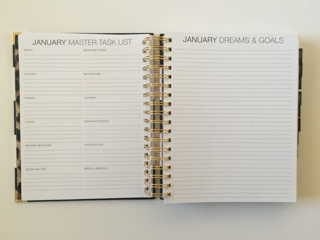 corie clark weekly planner review purposeful daily monthly goals budget pen test lined writing space spiral bound made in the usa monday week astart