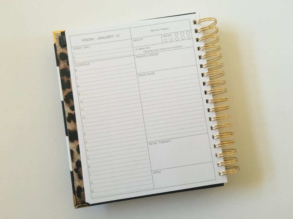 daily planner purposeful corie clark planner for work schedule 6 am to 9pm lined checklist to do list top 3 minimalist meal planning