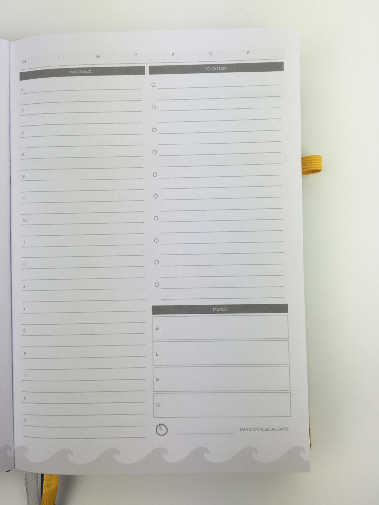 daily planner schedule 6am to 9pm undated live whale planner review meal planning checklist