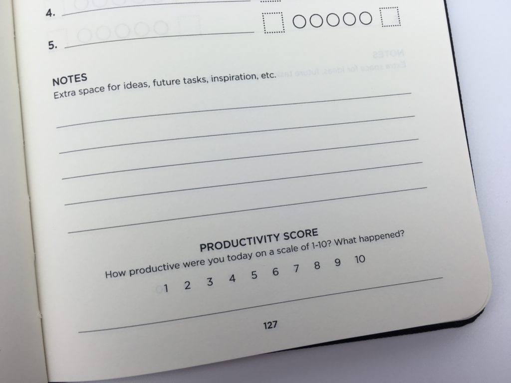 productivity planner daily review pros and cons worth the money intellegent change task goal non-traditional layout blogging business happiness