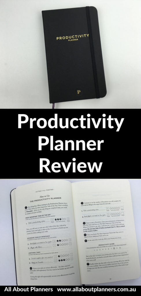 productivity planner review goal setting task planner minimalist pros and cons daily weekly intelligent change video