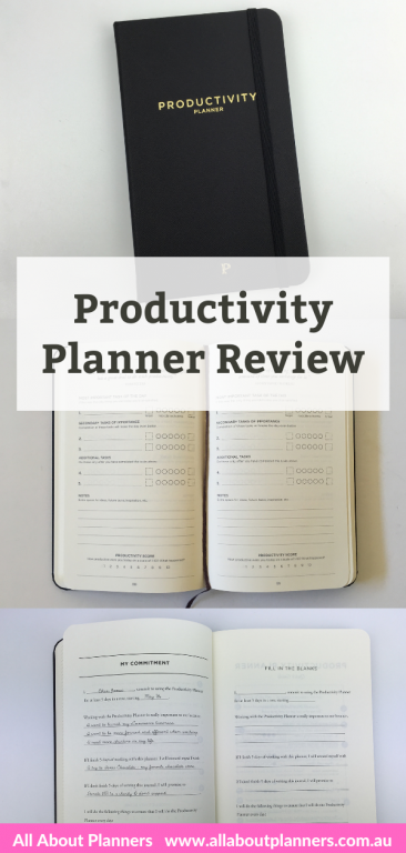 productivity planner review pros and cons daily planner day to a page minimalist video review