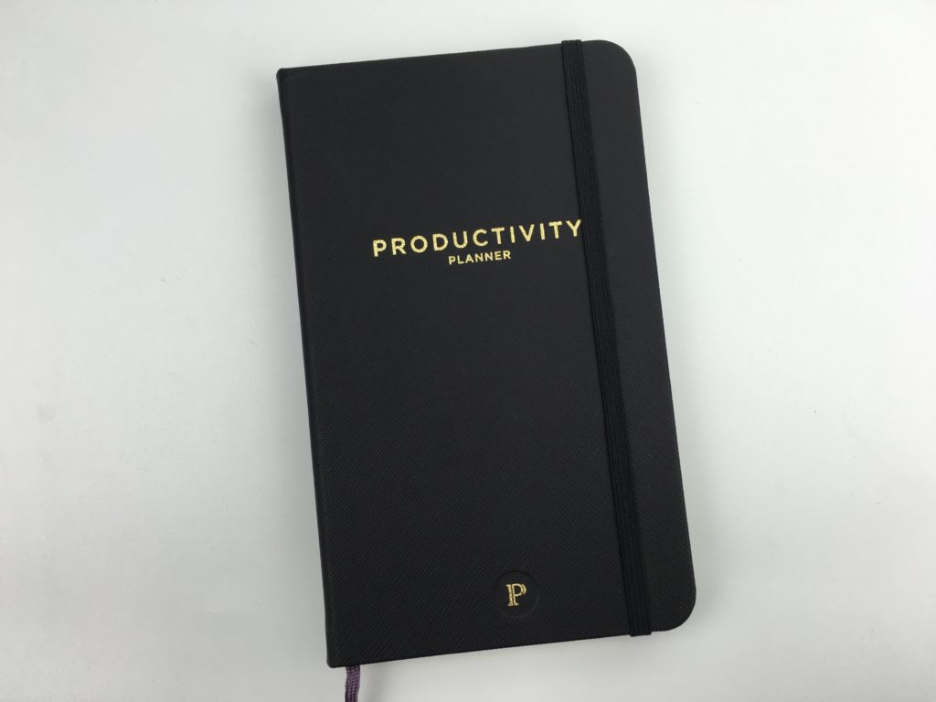 productivity planner review pros and cons daily weekly undated task list focused gender neutral video flipthrough