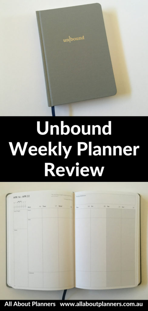 unbound weekly planner review pros and cons vertical minimalist monday week start simple video