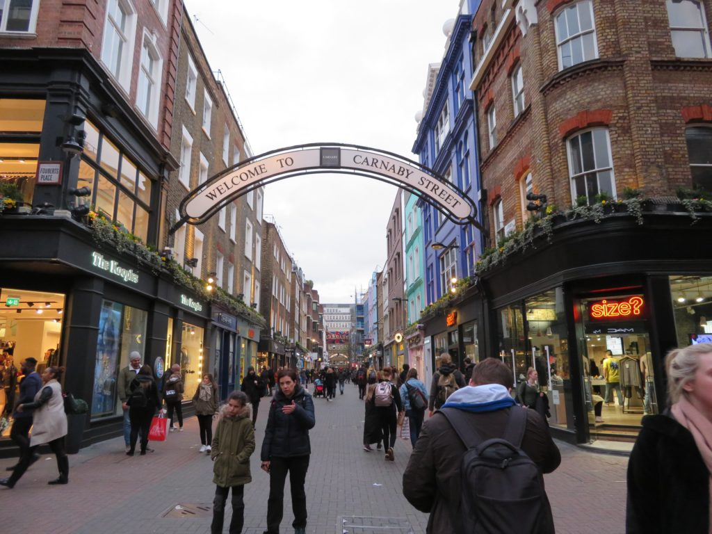 Carnaby street london things to see and do itinerary guide list must see