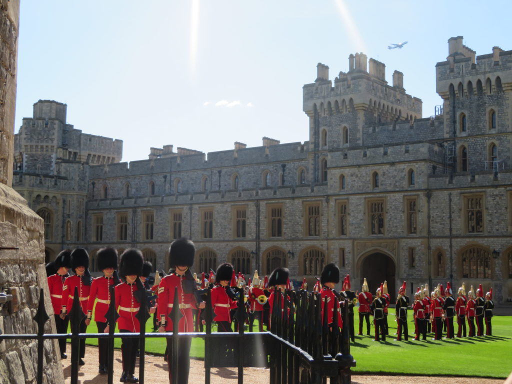 Windsor castle changing of the guard review worth the time and money how to get there day trip from London