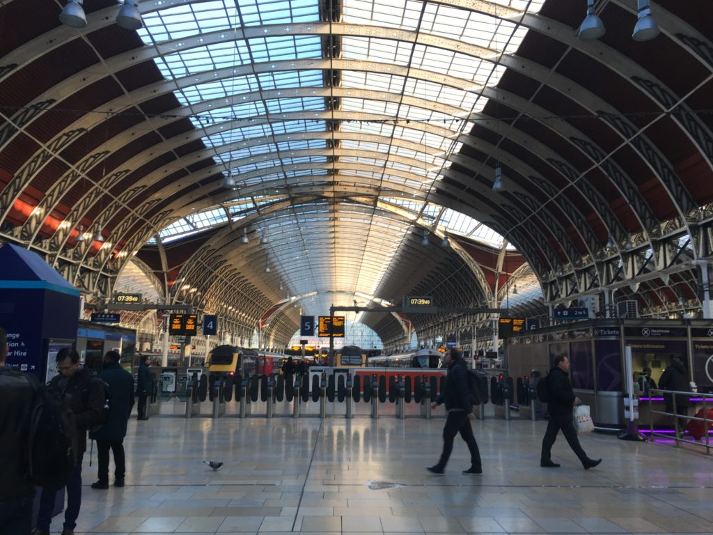 paddington train station london tips long distance travel national rail cotswolds day trip directions how to get there