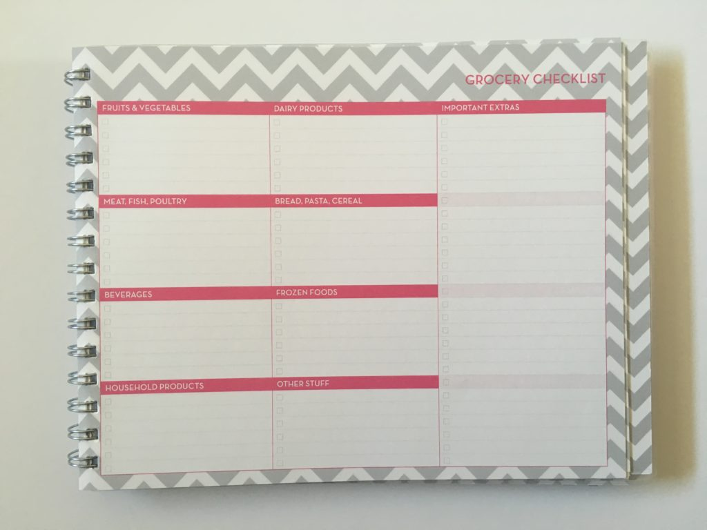 blue sky weekly planner dabney lee review monday start vertical checklist functional list chevron landscape page orientation pros and cons grocery checklist