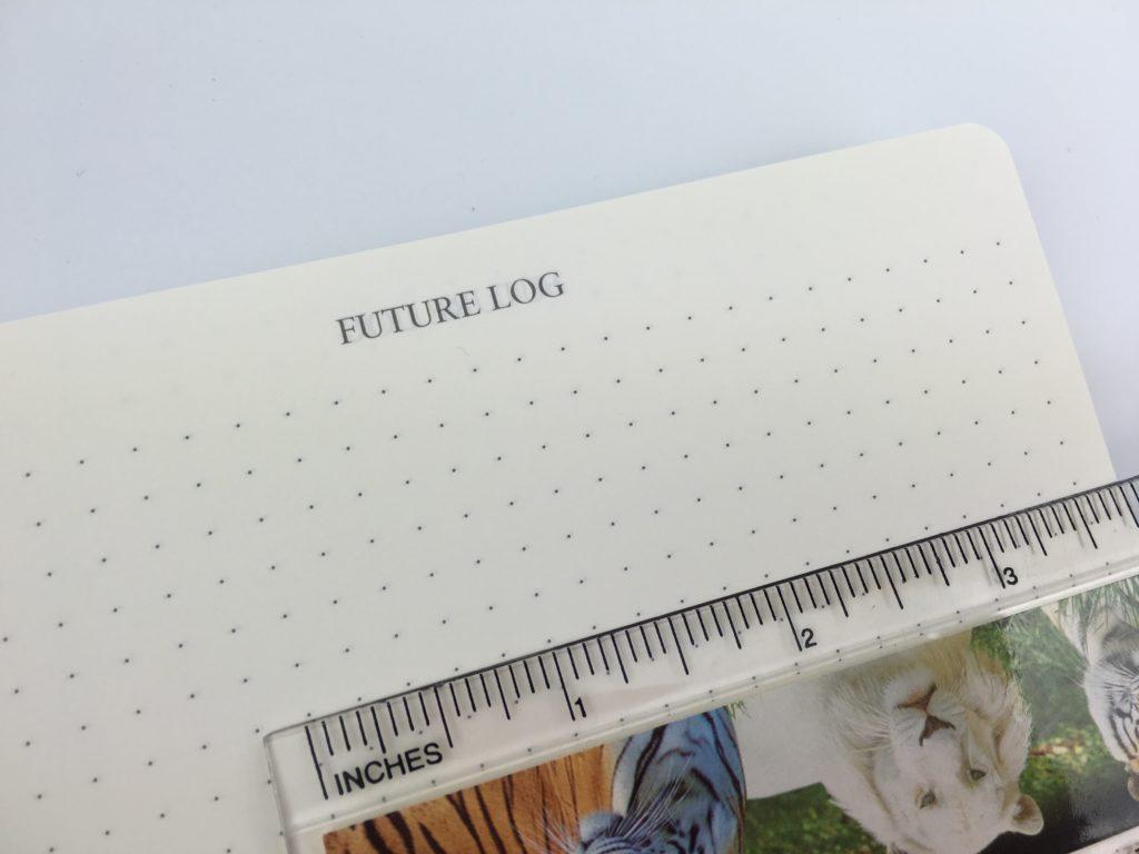 bullet journal notebook dot grid spacing future log index numbered pages leuchtturm original notebook buy australia amazon best value