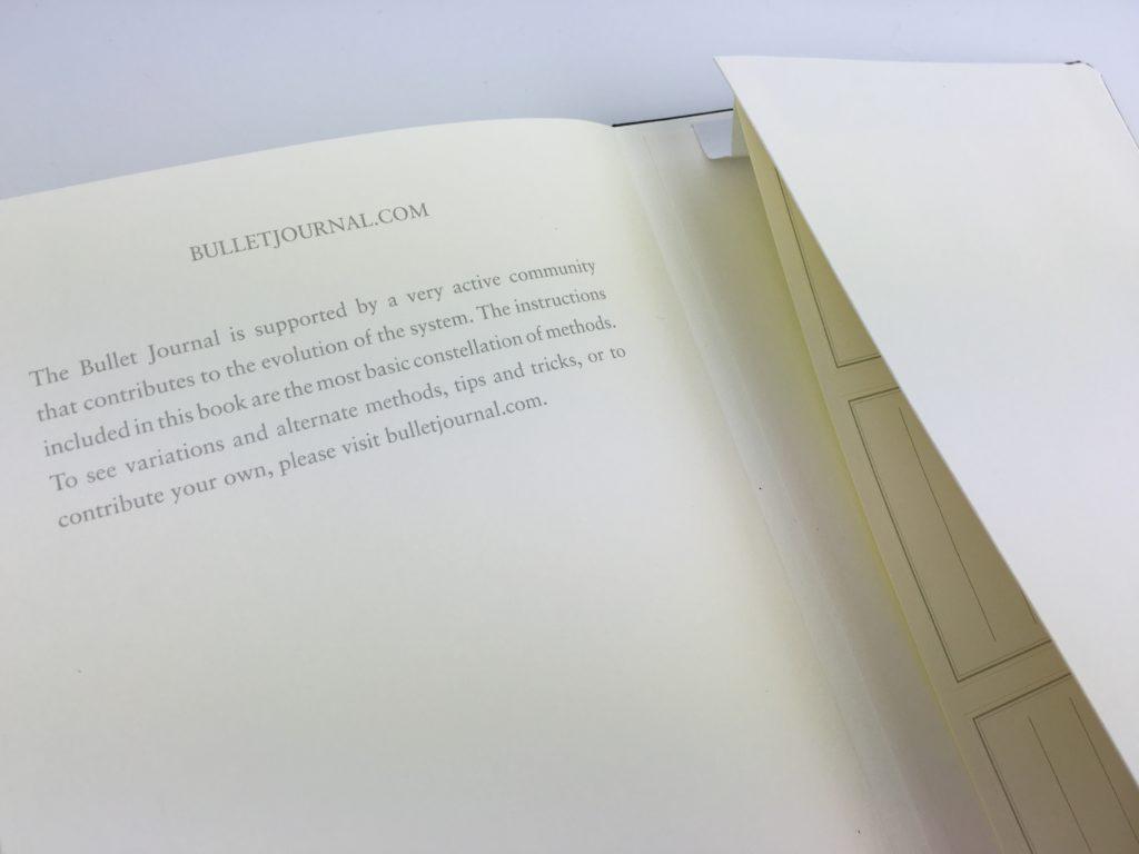 bullet journal notebook pocket folder honest review pros and cons ryder caroll planning system minimalist sewn book bound hardbound