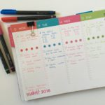 Using the Dabney Lee for BlueSky Landscape Weekly Planner