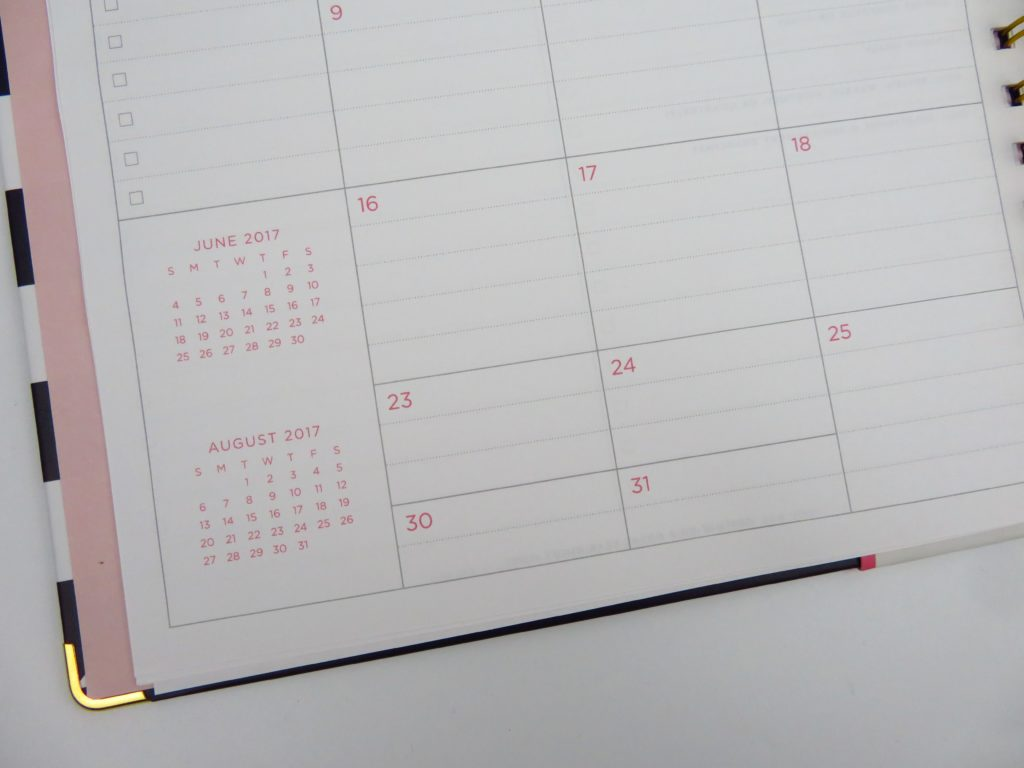 day designer for blue sky planner review monthly calendar pros and cons video flipthroug peek inside-min