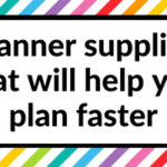 10 Planner supplies that will help you plan your week faster