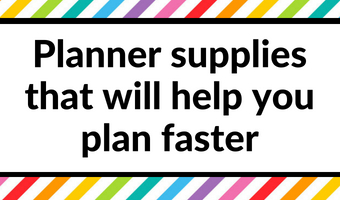 favorite planner supplies that will help you plan faster accessories planning tips ideas inspiration weekly bullet journal bujo
