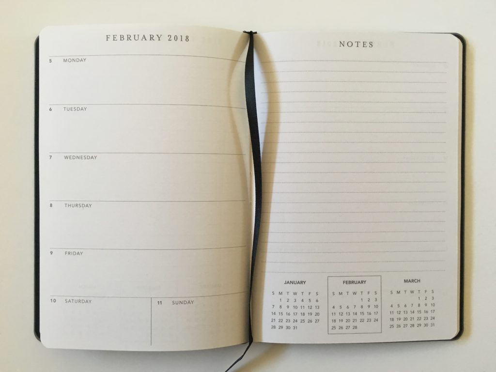graphique weekly planner review horizontal plus notes 2 page weekly spread monday start small a5 size agenda gold foil classy work planner pros and cons