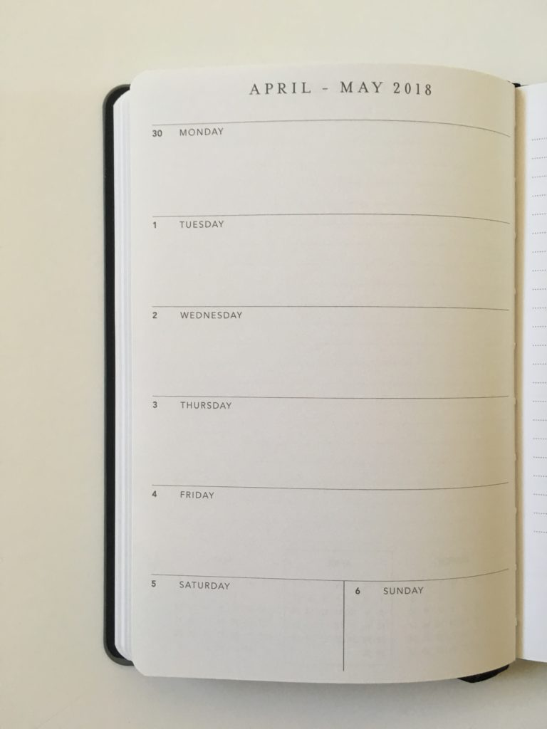 horizontal weekly planner cheap affordable amazon a5 size graphique monday start weekly notes pros and cons video review