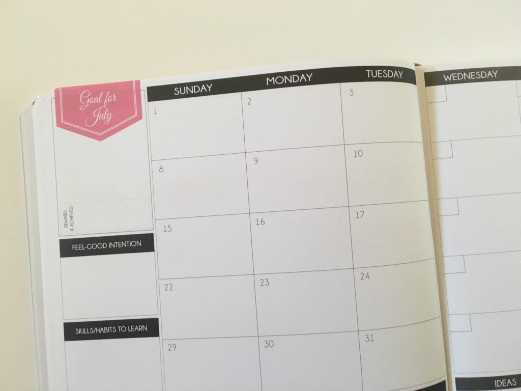law of attraction weekly planner hourly goal setting undated 5am to 10pm half hour schedule habit tracker checklist 2 page monthly calendar sunday start